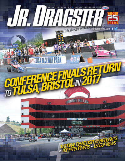 Jr. Dragster magazine cover